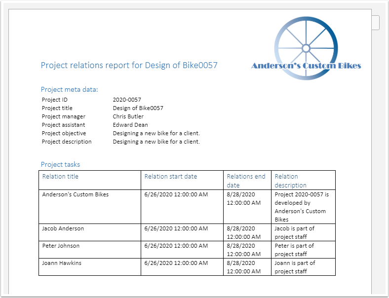 Project Relations Report.docx - Google Chrome