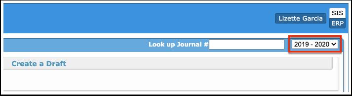 Manual Journals