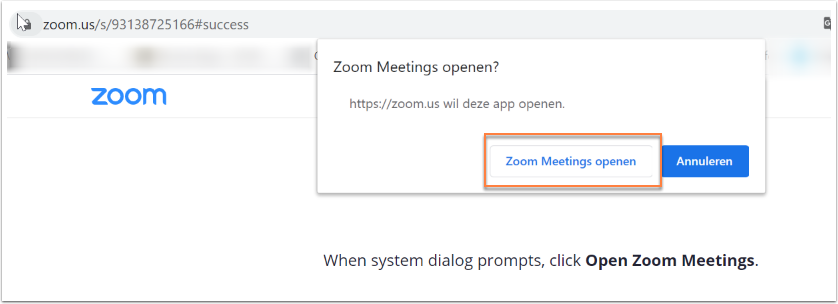 Launch Meeting - Zoom - Google Chrome