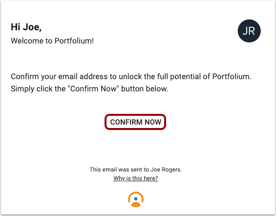 View Confirmation Email