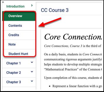 CPM eBooks - CC Course 3 Overview