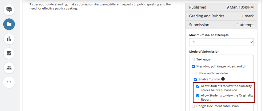 (33) Assignment - Public Speaking | Teamie at UWC
