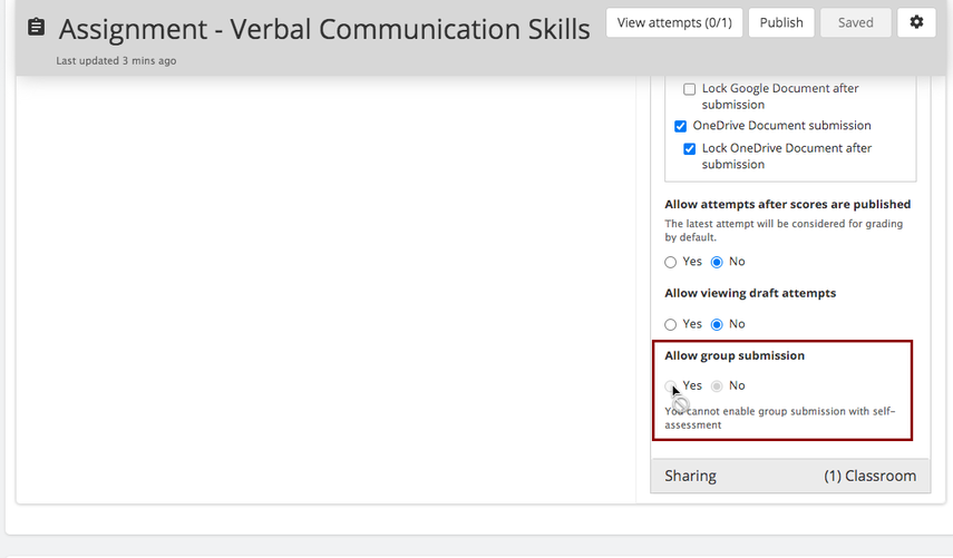 Assignment - Verbal Communication Skills | Teamie Next