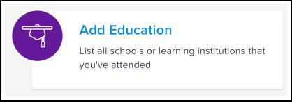 Add Education