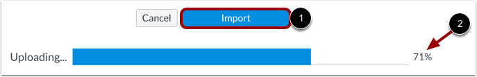 Import Course