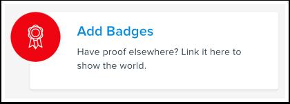 Add Badges