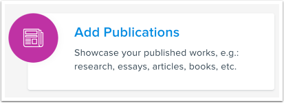 Add Publications