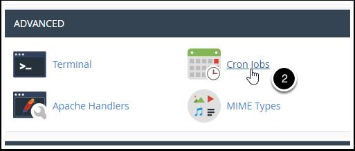 cPanel Cron Jobs icon