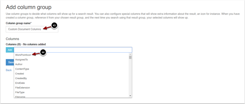 Add column group - Google Chrome