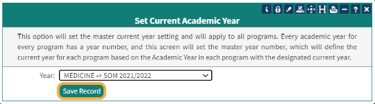 Select the current year