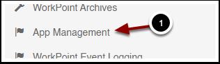 App Management - Google Chrome