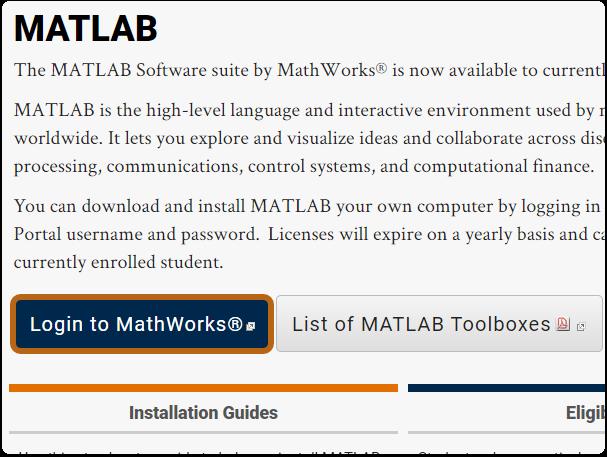 CSUF MATLAB website