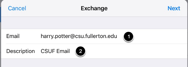 Enter campus email