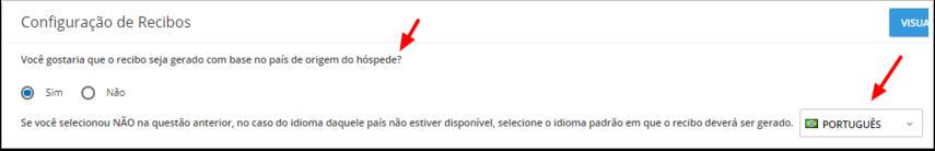 DEMO - Beach Life Testing - Configuração de Recibos - Google Chrome