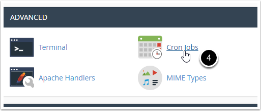 cPanel Cron Jobs icon