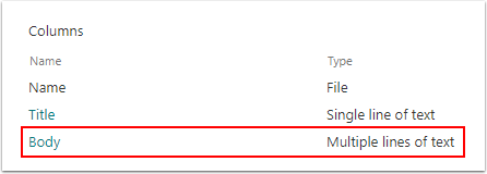 Content Type - Google Chrome