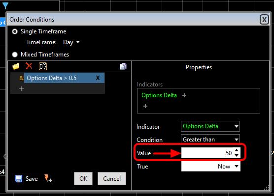 Set the desired Minimum and Maximum values and click OK.