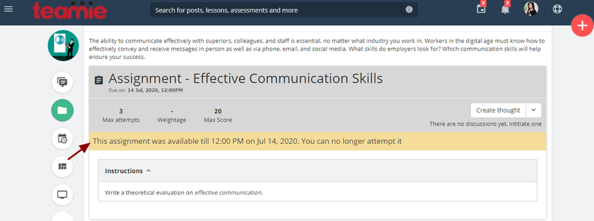 (2) Materials | Effective Communication Skills | Teamie Next - Google Chrome