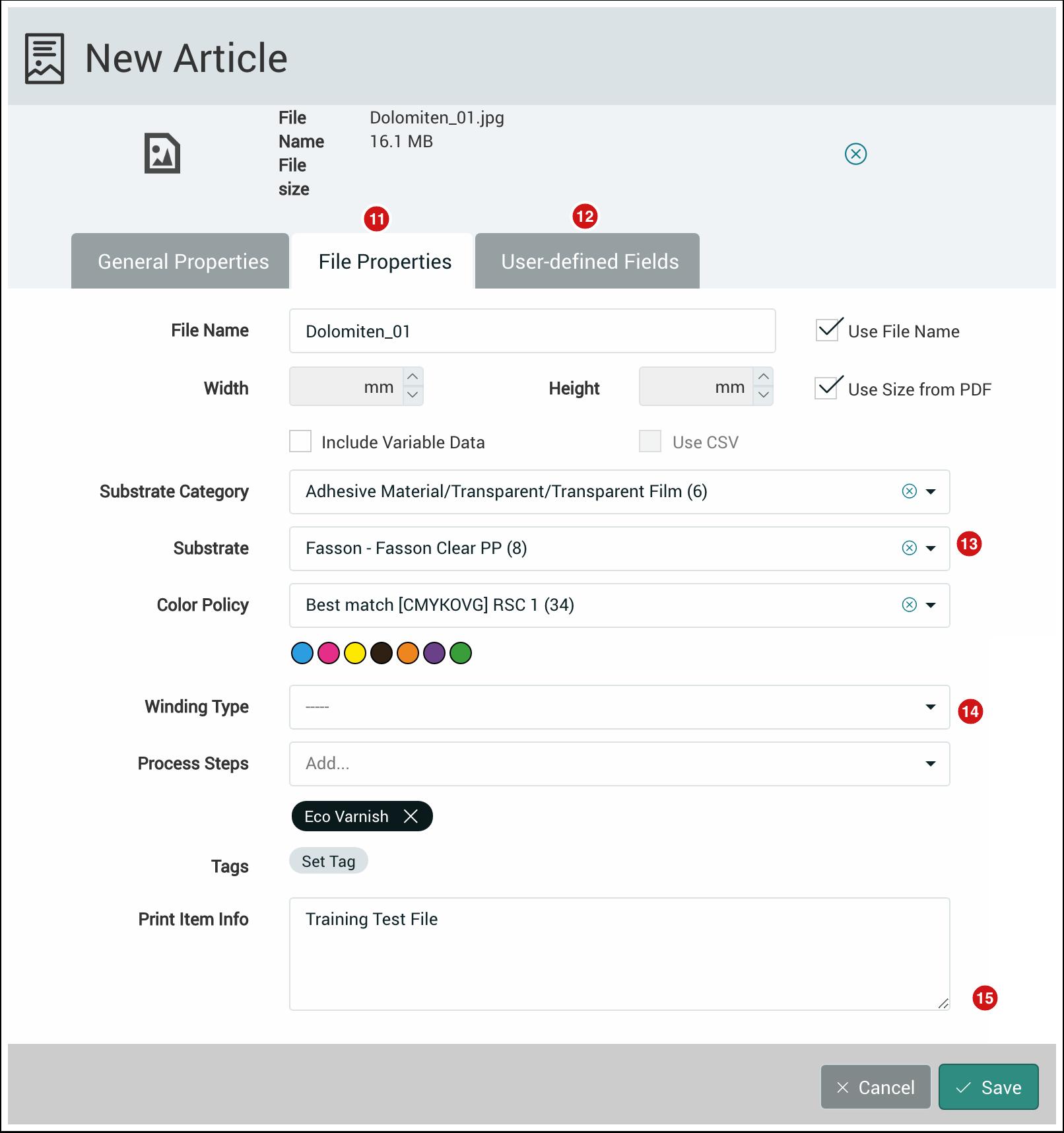 PMS WebGui :: Articles