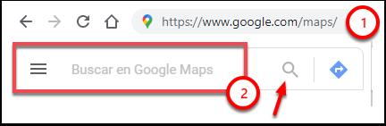 Google Maps - Google Chrome
