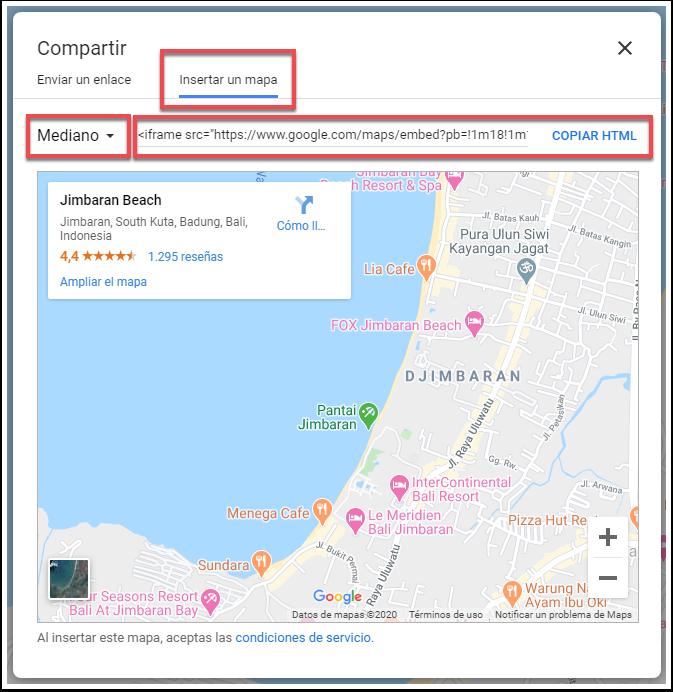 Jimbaran Beach - Google Maps - Google Chrome