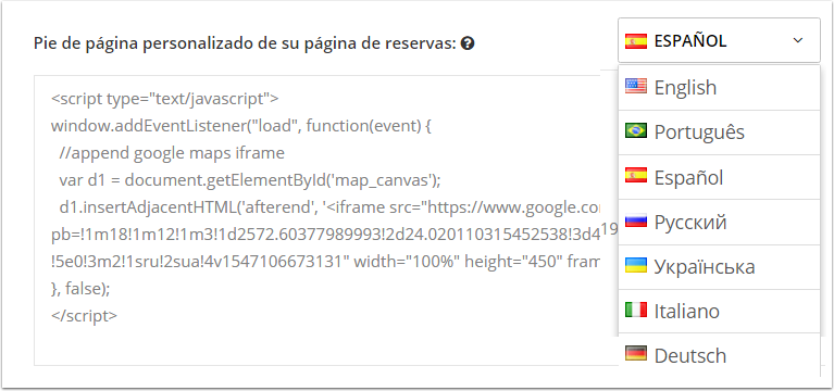 DEMO - El Bolsón - Personalizar mybookings - Google Chrome