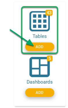Navigate to the Table(s) Tools.