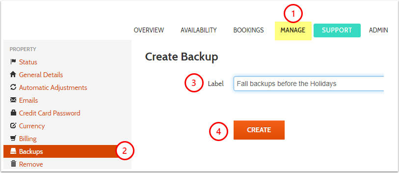 Manage - Backups - myallocator.com - Google Chrome