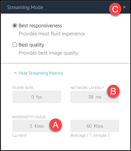 streaming metrics