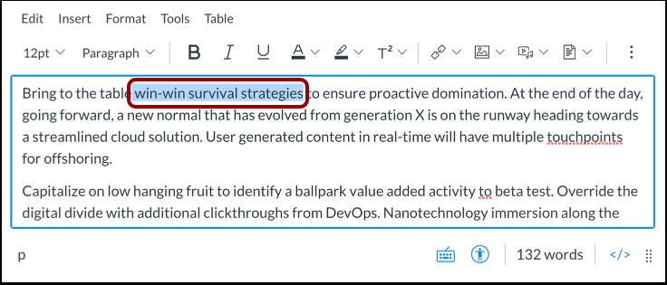 Create Link Using Keyboard Shortcut