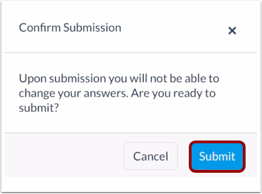 Confirm Submission