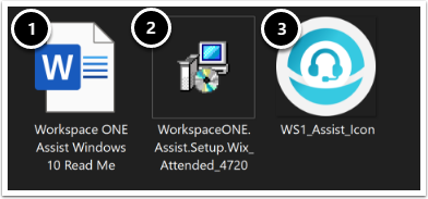 Download the Workspace ONE Assist Windows MSI Installer