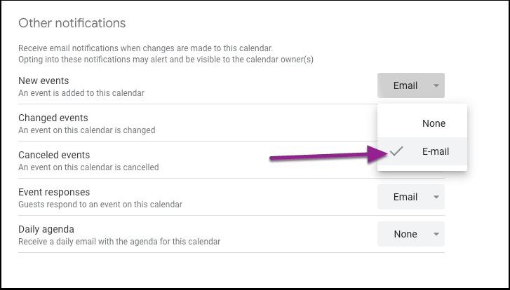 Tc.columbia.edu - Calendar - Calendar settings for Virtual Office Hours
