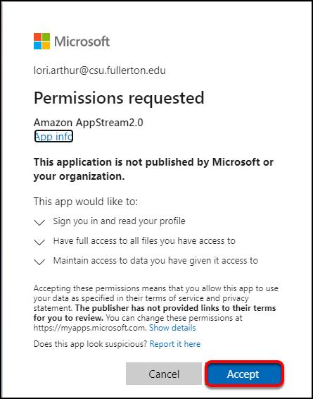 Microsoft permissions