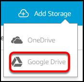 add Google Drive