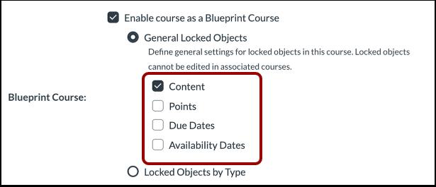 Define General Locked Objects