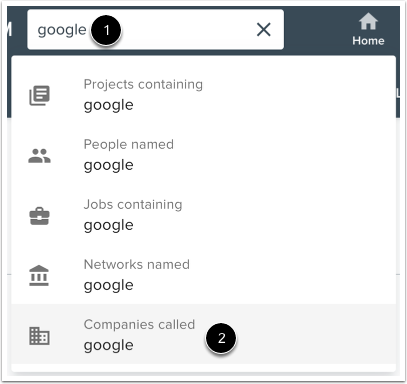 Search Companies