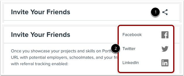 Share Profile