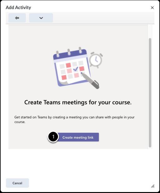 Create a meeting