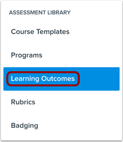 Open Learning Outcomes