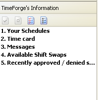 View the TimeForge RSS Feed