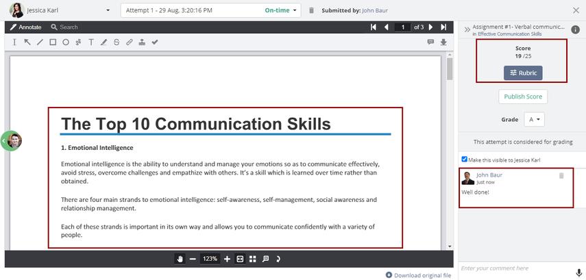 (36) Attempt   Assignment #1- Verbal communication   Teamie Next - Google Chrome