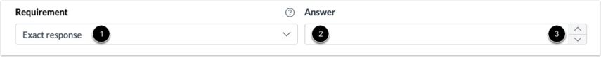 Select Exact Response