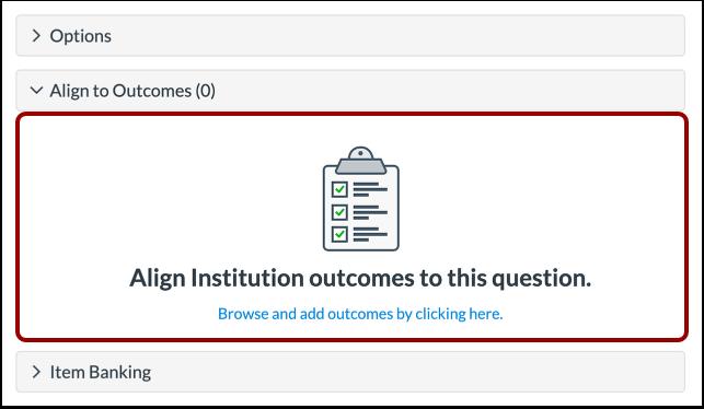 Align to Outcome