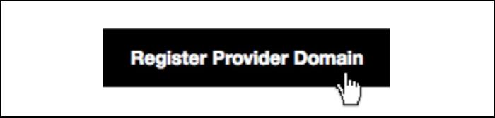 Register Provider Domain