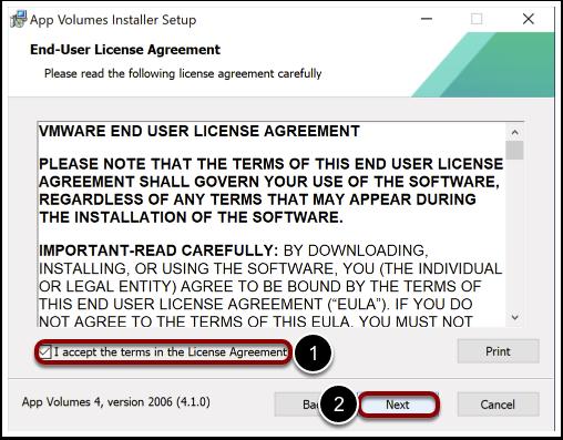 Accept license agreement for AV agent when Windows imaging.