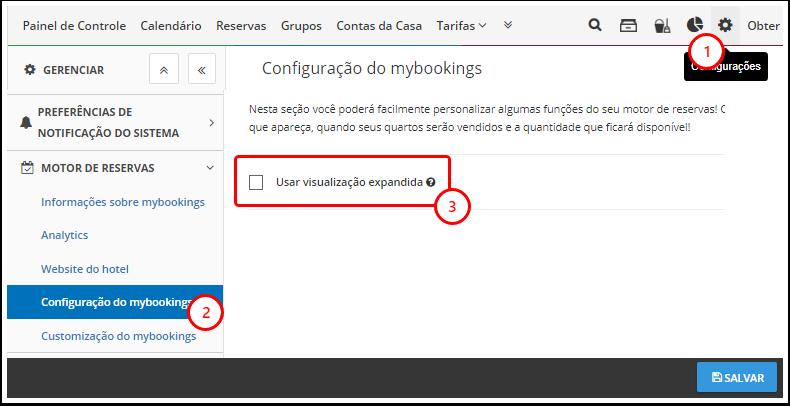 DEMO - Beach Life Testing - Gerenciar - Configuração do mybookings - Google Chrome