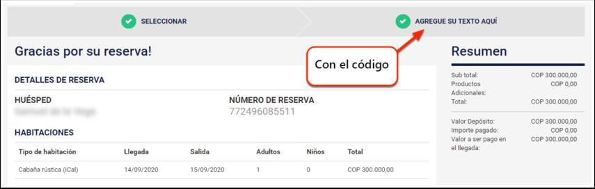 Confirmation - DEMO - El Bolsón - Google Chrome