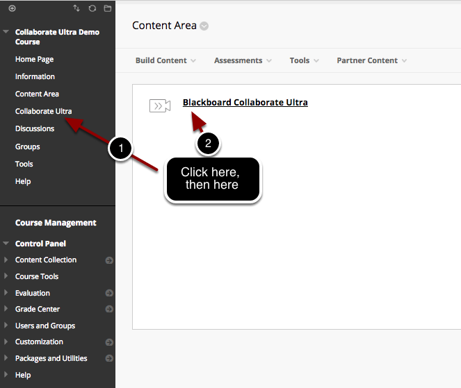Access your Collaborate Ultra Session(s)