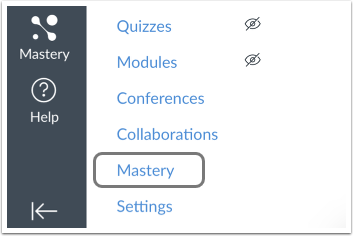 MasteryConnect in Navigation